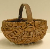 Image of Catherine Marshall Gardiner Basketry Collection - Old Splint Basket