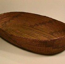 Image of Native American Baskets - Baby Basket