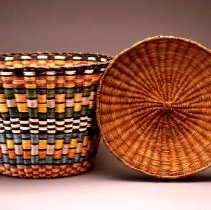 Image of Native American Baskets - Meal Tray