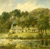 Image of European Art - Scene in Wales