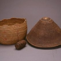 Image of Native American Baskets - Lined Rain Hat