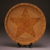 "Image of Native American Baskets - ""Ramona"" Star Tray"