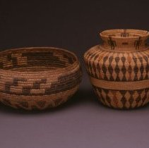 Image of Native American Baskets - Grasshopper Basket