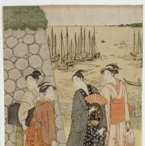 Image of Japanese Prints - An Outing at Takanawa