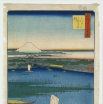 Image of Japanese Prints - Number 67: Mitsu-mata Wakare no Fuchi (The Parting Waters at Mitsumata)