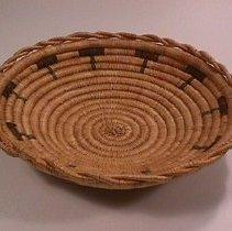 Image of Native American Baskets - Shallow Bowl Basket