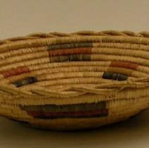 Image of Native American Baskets - Shallow Bowl Basket