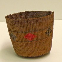 Image of Native American Baskets - Cup-Shaped Basket
