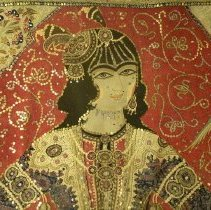 Image of Miscellaneous - Oriental Embroidered Panel