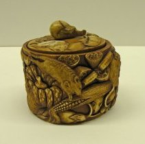 Image of Miscellaneous - Ivory Box with Cover