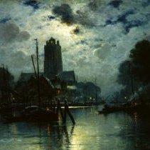 Image of European Art - Nuit a Dordrecht
