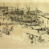 Image of American Art - Venetian Scene