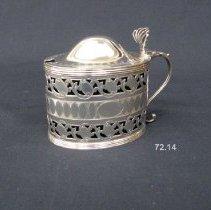 Image of British Georgian Silver - George III Mustard Pot