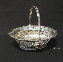 Image of British Georgian Silver - George III Cake Basket