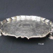 Image of British Georgian Silver - George I Salver