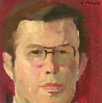 Image of American Art - Sketch of Dr. Aubrey K. Lucas