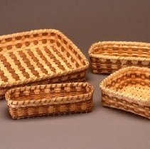 Image of Native American Baskets - Tray Basket