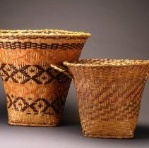 Image of Native American Baskets - Wastebasket
