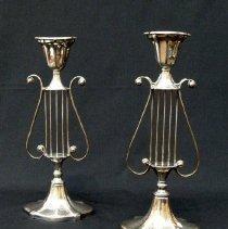 Image of British Georgian Silver - George III Candlestick