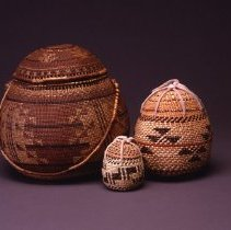 Image of Native American Baskets - Miniature Tobacco Basket