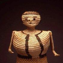 Image of Native American Baskets - Female Effigy Basket