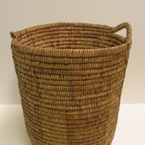 Image of Native American Baskets - Cylindrical Hamper