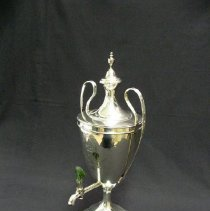 Image of British Georgian Silver - George III Coffee Urn