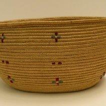 Image of Native American Baskets - Oval Basket