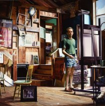 Image of American Art - Painting In Marcella's Studio