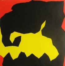 Image of American Art - Black, Yellow, Red
