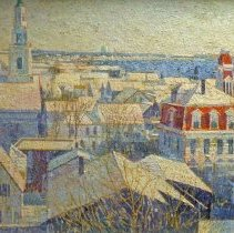 Image of American Art - Provincetown in Winter