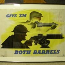 Image of Poster Collection - Give 'Em Both Barrels