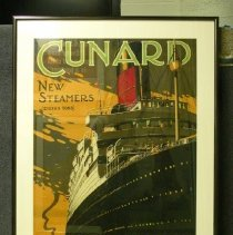 Image of Poster Collection - Cunard-Boston to Europe
