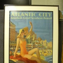 Image of Poster Collection - Atlantic City (Girl-Bathing Suit)