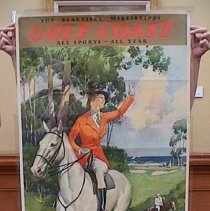 Image of Poster Collection - Gulf Coast (Woman on Horse)