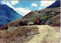 Image of SLESSE DEMOLITION AREA CONSTRUCTION.