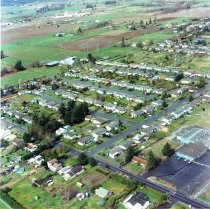 Image of AIR AND  AERIAL PHOTOS OF TRAINING AREAS - WATSON SCHOOL AREA.