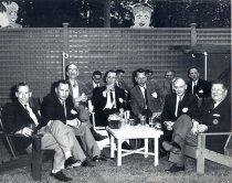 Image of 1956 - Bob Orr, Mel Wells, Scudamore