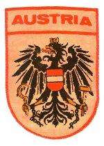 Image of Badge - Cloth - Austrian