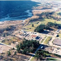 Image of Air and  aerial photos of training areas - 1989 - CFBC - Ammo Comp. Mine W