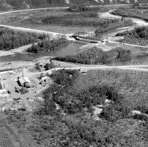 Image of -Eagle River Bridge - Bridge site in mid June 1977