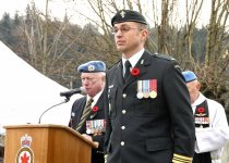 Image of  Remembrance Day Ceremony - 2012.061.038