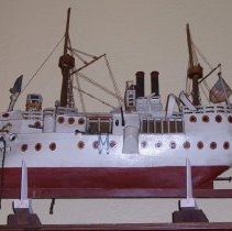 Image of L2011.0024.0001 - Model, Ship
