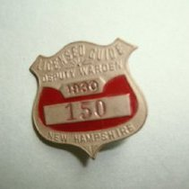 Image of H2010.0135.0001 - Badge