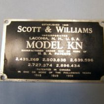Image of H2011.0012.0003 - Nameplate