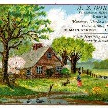 Image of H2011.0049.0001 - Card, Trade