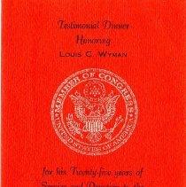 Image of H2011.0123.0010 - Program