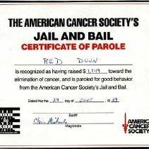 Image of H2011.0145.0062 - Certificate, Achievement