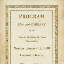 Image of L2012.0122.0001 - Program