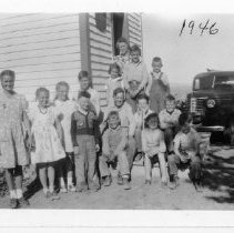 Image of Lower Sage Creek School, 1946